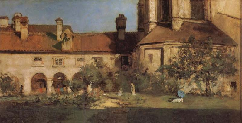 William Merritt Chase The Cloisters